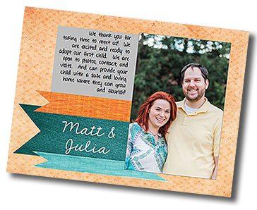 Matt and Julia's adoption profile
