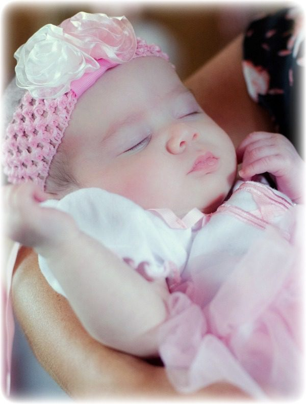 David and Deanna were blessed to adopt a baby girl