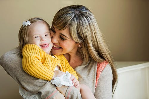Loving mother who is raising special needs children