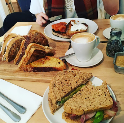 Sunday Brunch at East Avenue Bakehouse, Liverpool