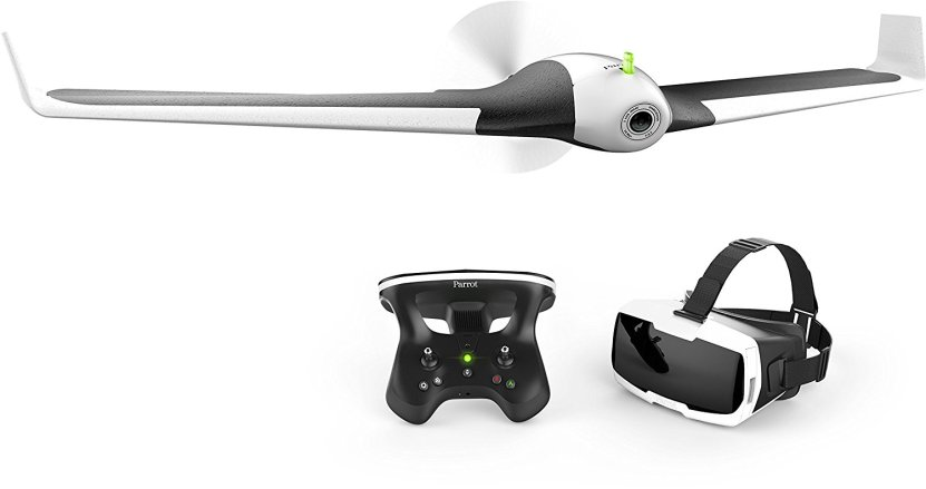 Parrot Disco Fixed Wing Drone VR Headset Travel