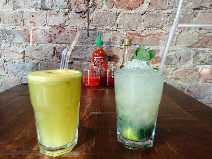 Cocktails at Pho Liverpool Vietnamese Restaurant Bold St
