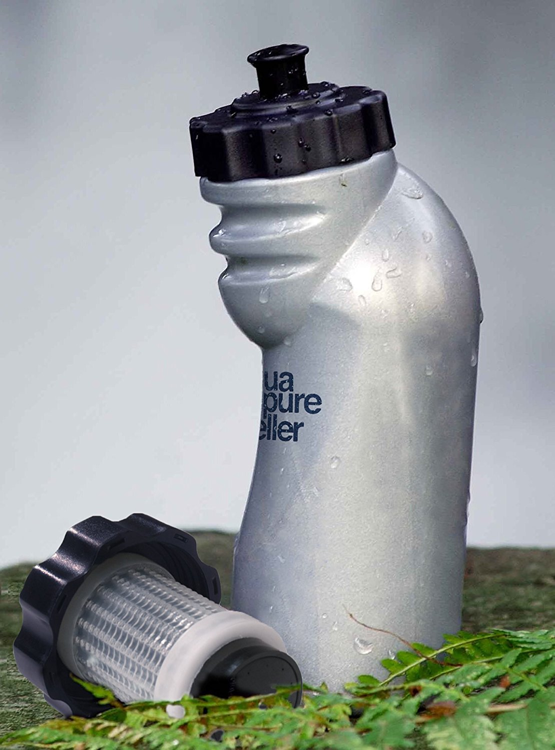 AquaPure Travel Water Purifier Bottle With Filter | Lifetime Backpacker
