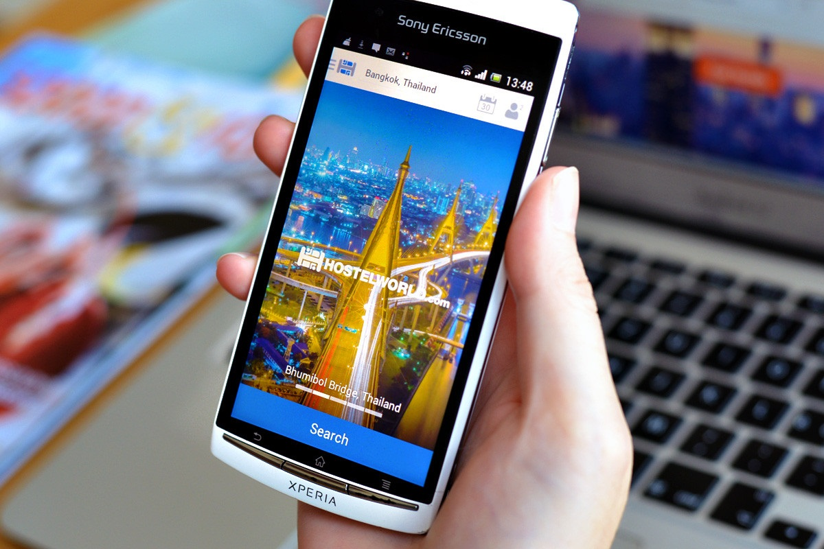 hostelworld app for travelers