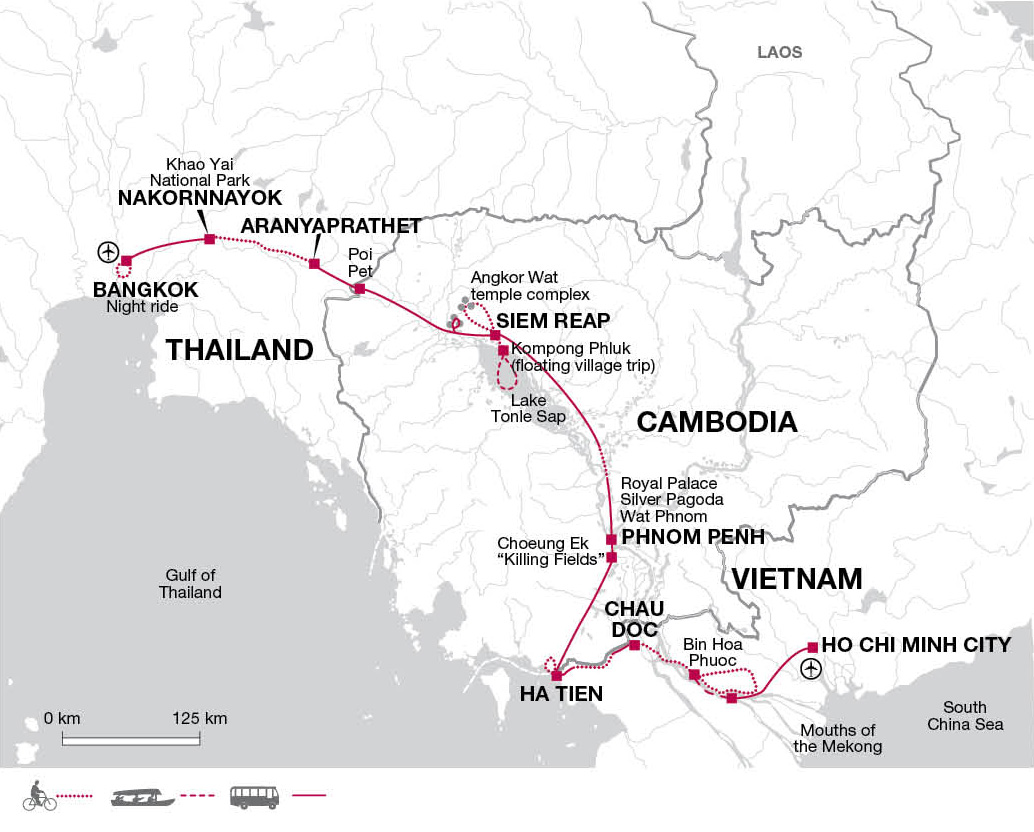 thailand cambodia and vietnam bike tours