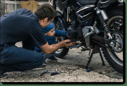 DIY Motorcycle Care