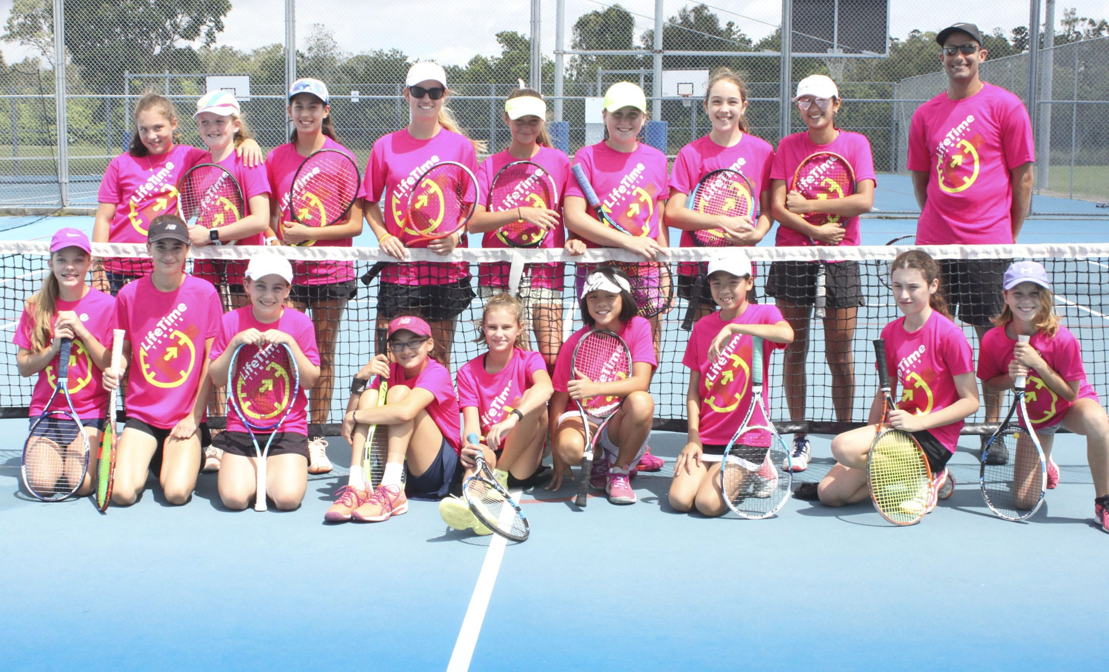 Tennis Camp for Girls