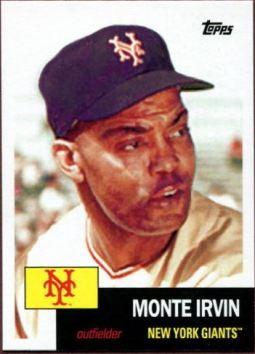 2016 Topps Archives Monte Irvin 53