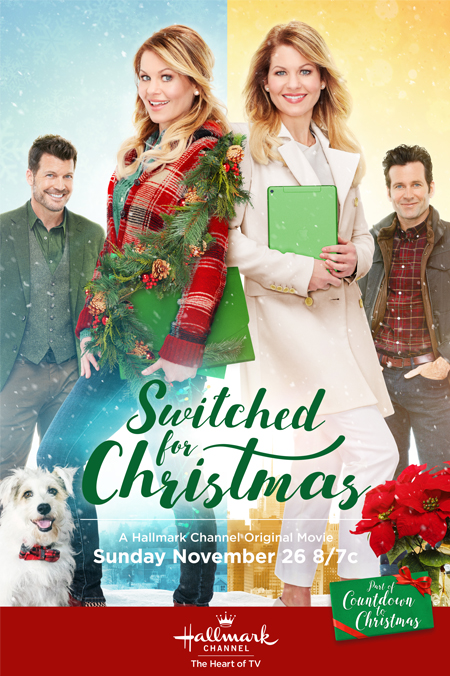 Switched for Christmas 2017 Hallmark Channel Lifetime