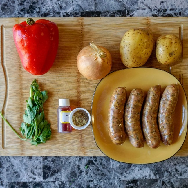Spicy Andouille Sausages