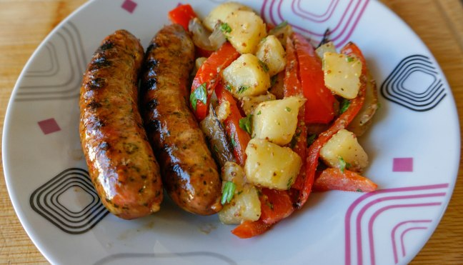 Spicy Andouille Sausages 4