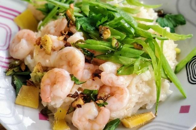 Shrimp & Rice Congee