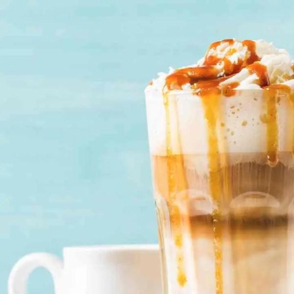 Dulce de Leche Coffee Milkshake