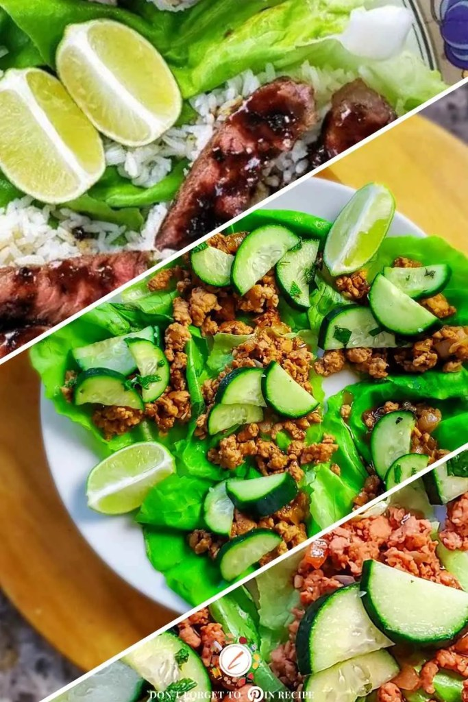Four healthy Lettuce wrap recipes
