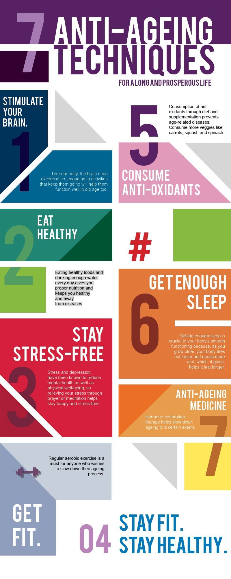 Top 7 best anti ageing methods which keeps you fit