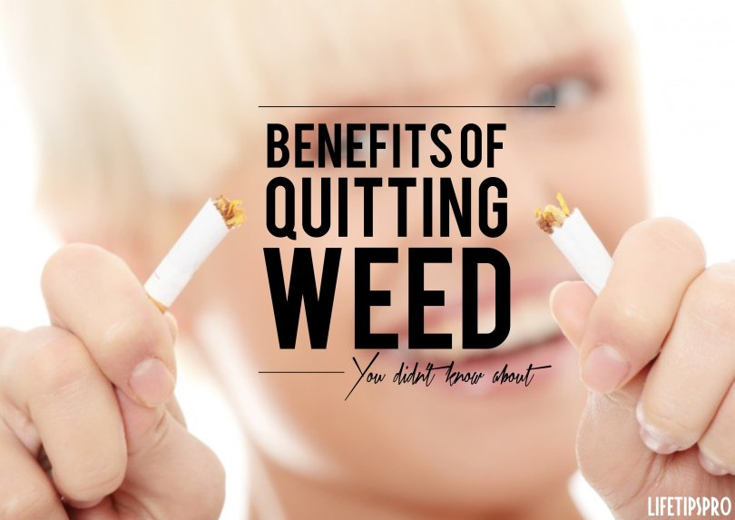 Benefits of quitting weed, how to stop smoking weed