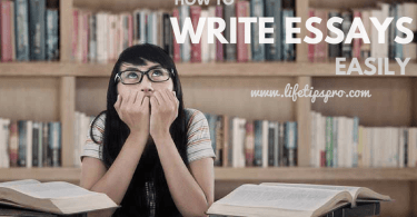 steps to write college essay easily