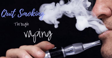 here are the few tips to quit smoking through vaping