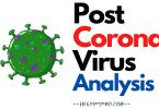 Post corona virus analysis in india 2020