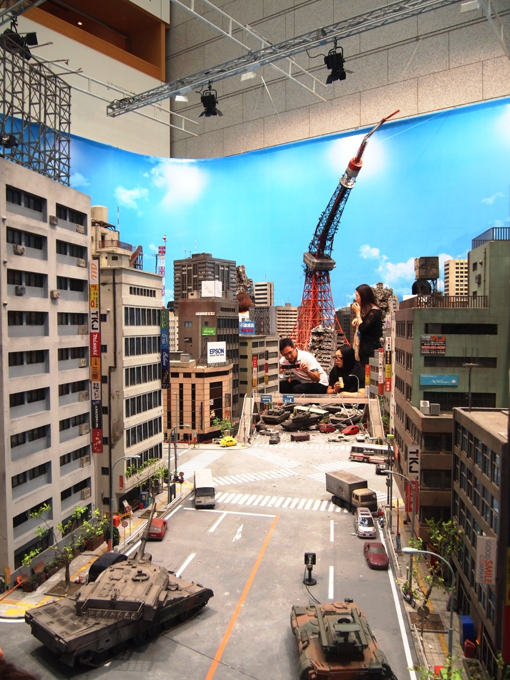Tokusatsu Special Effects Exhibit Museum Of