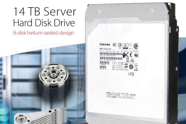 Toshiba 14TB Server Hard Disk Drive image