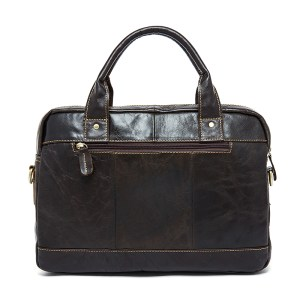MVA Men's Briefcase bag men's Genuine Leather bags male man 14inch business Laptop bag for men briefcases leather bags