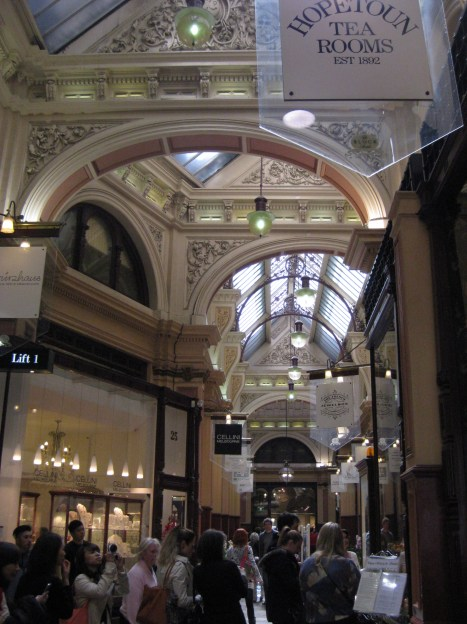 """Welcome to #8 - the Block Arcade. where Melbournians in the 1800s liked to promenade or """"do the block"""""""