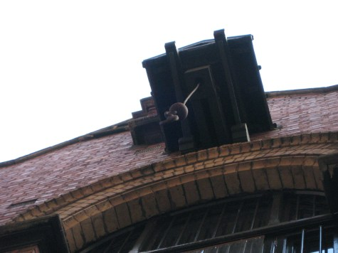 Look up: These are barrel hoists