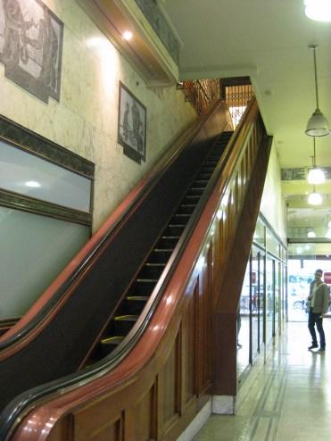 Old timey escalator