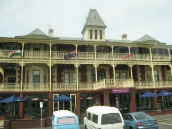 A beautiful Victorian hotel