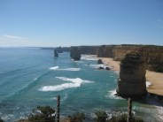 To right, Apostles as far as the eye can see