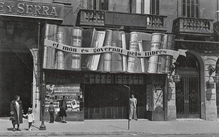 Catalonia bookstore