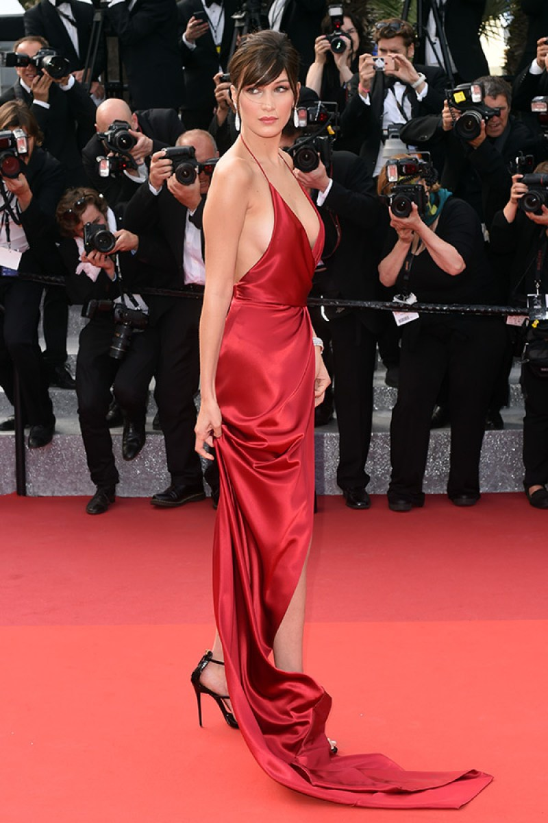 Bella Hadid cannes red carpet 11