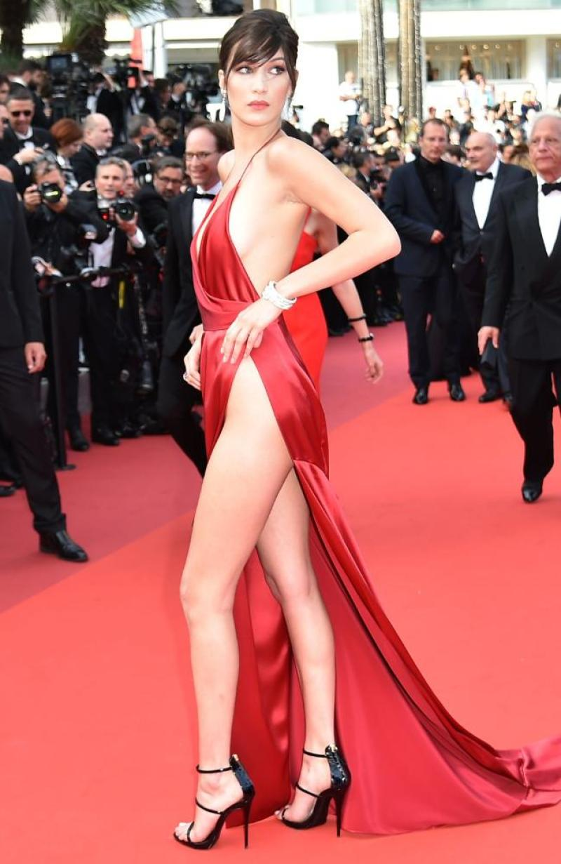 Bella Hadid cannes red carpet 18