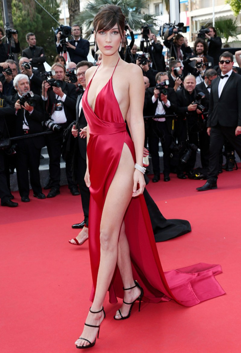 Bella Hadid cannes red carpet 38