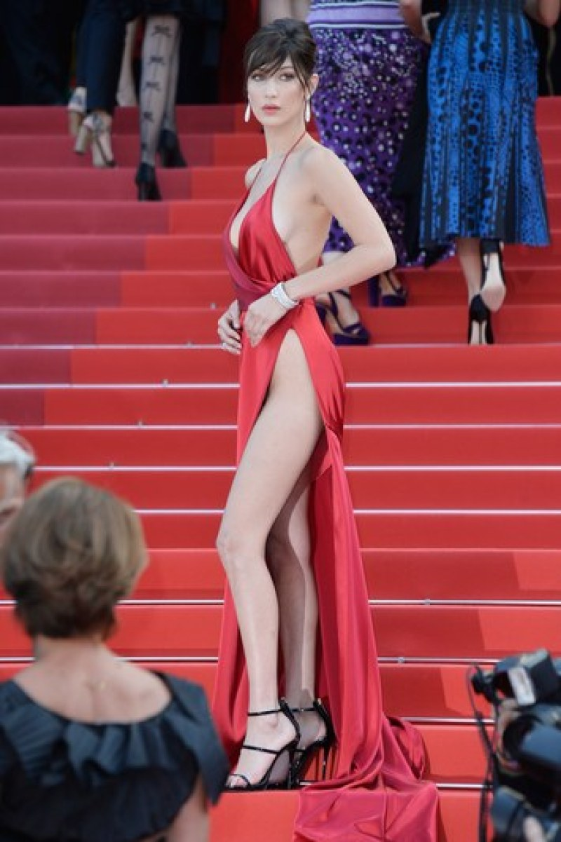 Bella Hadid cannes red carpet 42
