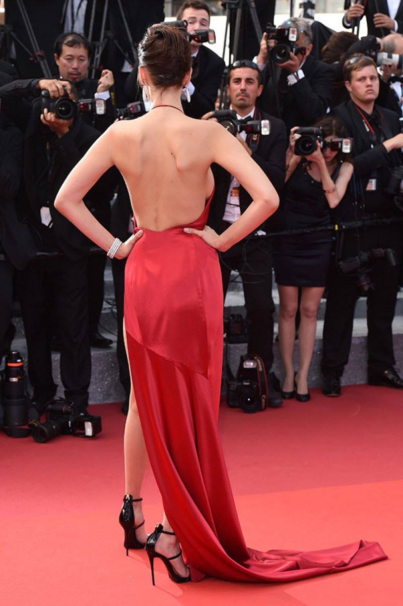 Bella Hadid cannes red carpet 9