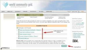 Регистрация World Community Grid 2