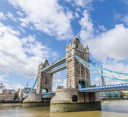 Вот он - Tower Bridge