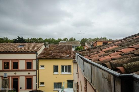 Вид из моего окна в Тулузе