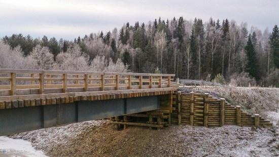Мост по дороге в Удимский