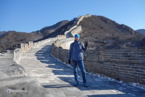 Я на Великой Китайской Стене