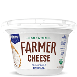 Natural Organic Farmer Cheese