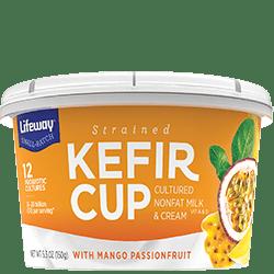 Mango Passionfruit Kefir Cup