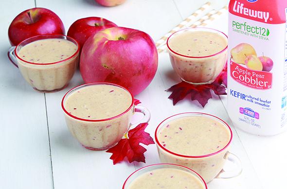 Apple Pie Kefir Smoothie