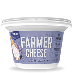 Blueberry Lavender Farmer Cheese Cup