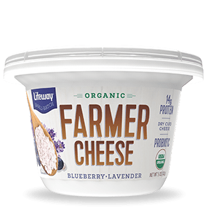 Blueberry Lavender Organic Farmer Cheese Cup