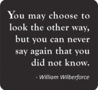 William Wilberforce Slavery Quote for Human Trafficking Awareness Month