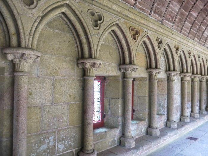 mont saint michel cloisters