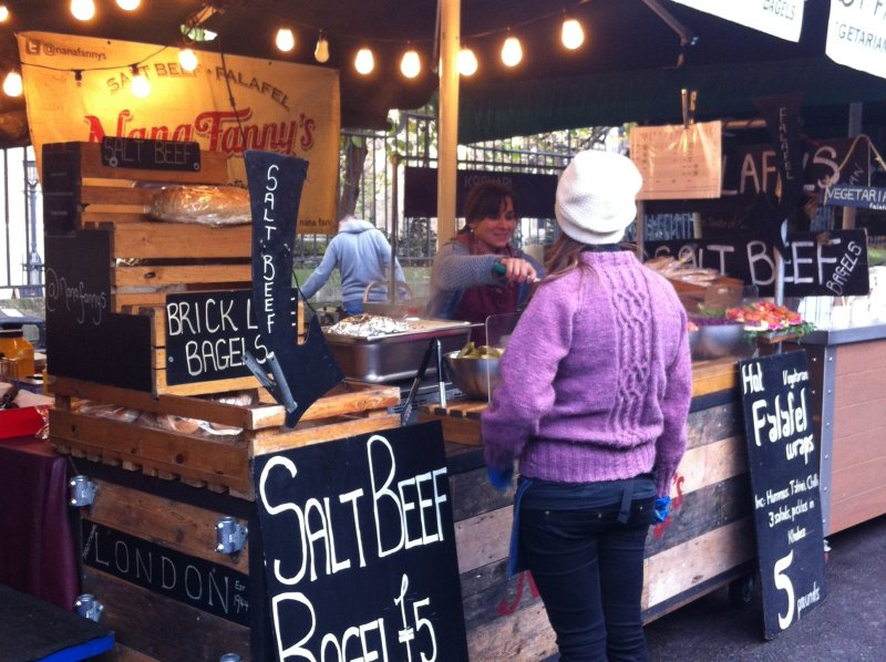 salt beef borough market london image